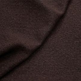 Tissu laine bouillie french roast x 10cm
