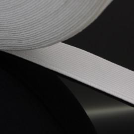 Élastique plat blanc 20 mm