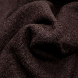 Tissu laine bouillie french roast - pretty mercerie - mercerie en ligne