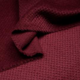 Drap de laine Tartan Noir & Blanc
