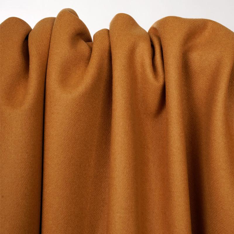 Tissu drap de laine sudan brown  - pretty mercerie - mercerie en ligne