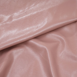 Tissu simili cuir texturé rose dawn x 10cm