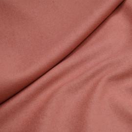 Tissu lainage rose terra cotta x 10cm