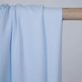 Tissu crêpe proviscose baby blue  - pretty mercerie - mercerie en ligne