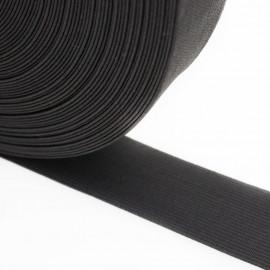 Élastique plat noir 32 mm