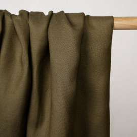 Tissu lin et viscose butternut - pretty mercerie - mercerie en ligne