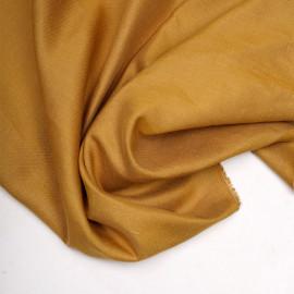 Tissu lin et viscose amber gold x 10CM