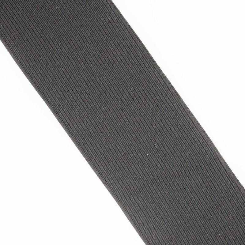 Élastique plat noir 50 mm
