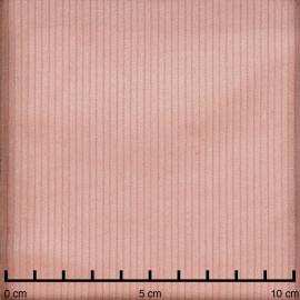 Tissu velours côtelé coton rose corail - pretty mercerie - mercerie en ligne