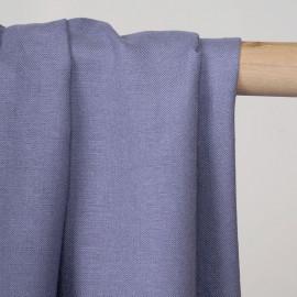 Tissu lin et viscose blue ice - pretty mercerie - mercerie en ligne