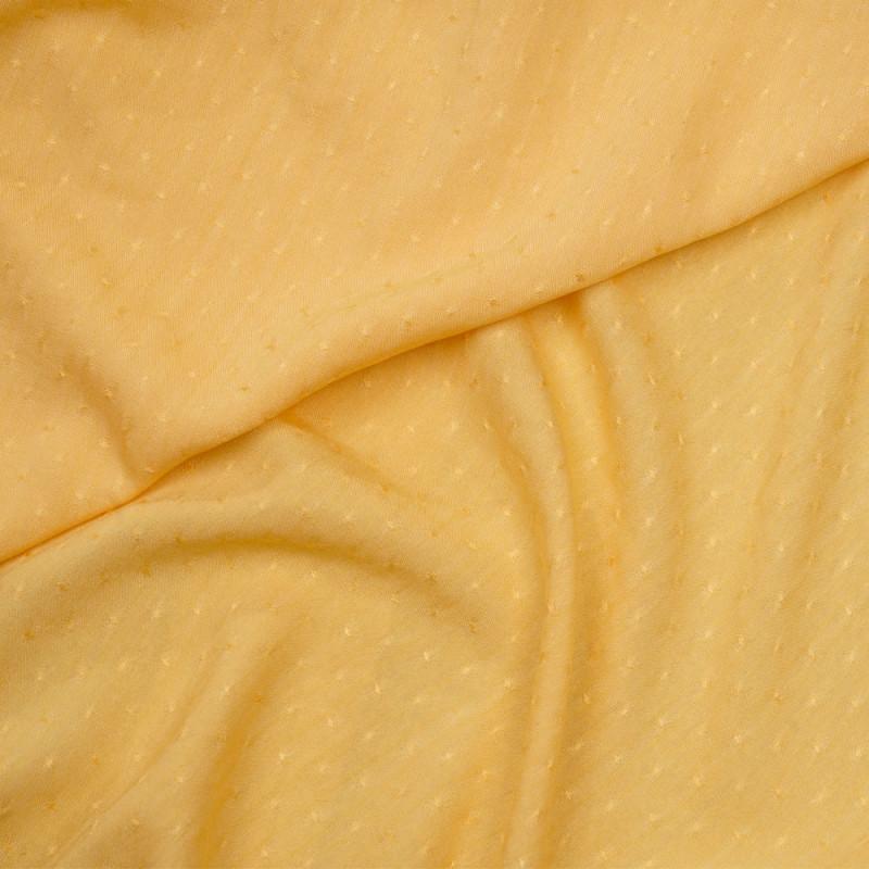 Tissu poly-coton sunset gold tissé - pretty mercerie - mercerie en ligne