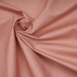 Tissu lin, tencel et viscose rose poudré - pretty mercerie - mercerie en ligne