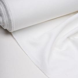 Tissu crêpe blanc cassé x 10 cm