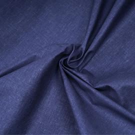 Tissu lin, tencel et viscose bleu estate x 10CM