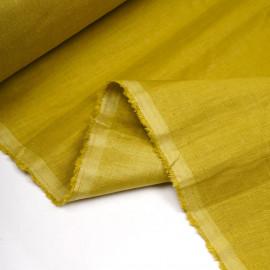 Tissu lin, tencel et viscose antique moss - pretty mercerie - mercerie en ligne