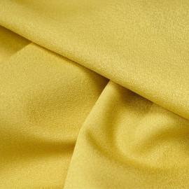 Tissu crêpe citronelle x 10 cm