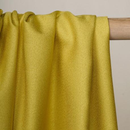 Tissu crêpe citronelle - pretty mercerie - mercerie en ligne