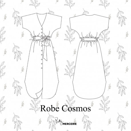 Robe Cosmos - patron de couture - pretty mercerie