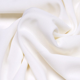 tissu doublure maillot de bain blanc - mercerie en ligne - pretty mercerie