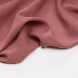Tissu tencel tissé et rayé cedar wood - pretty mercerie - mercerie en ligne