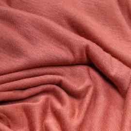 Tissu jersey viscose vieux rose - pretty mercerie - mercerie en ligne