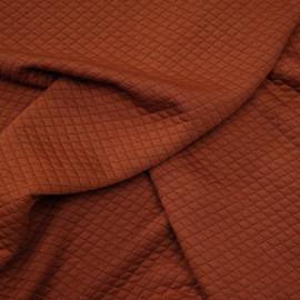 Tissu matelassé arabian spice à motif losanges x 10cm