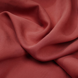 Tissu tencel sergé cinnabar x 10cm