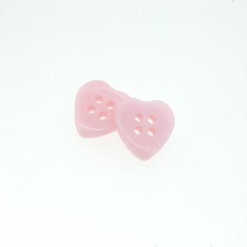 Bouton coeur rose du web