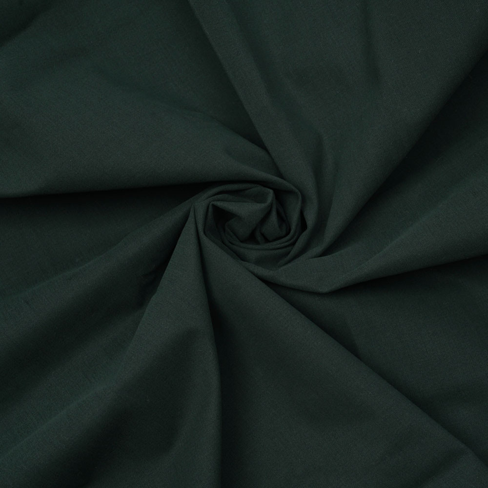 Tissu denim chino vert jungle green  - pretty mercerie - mercerie en ligne