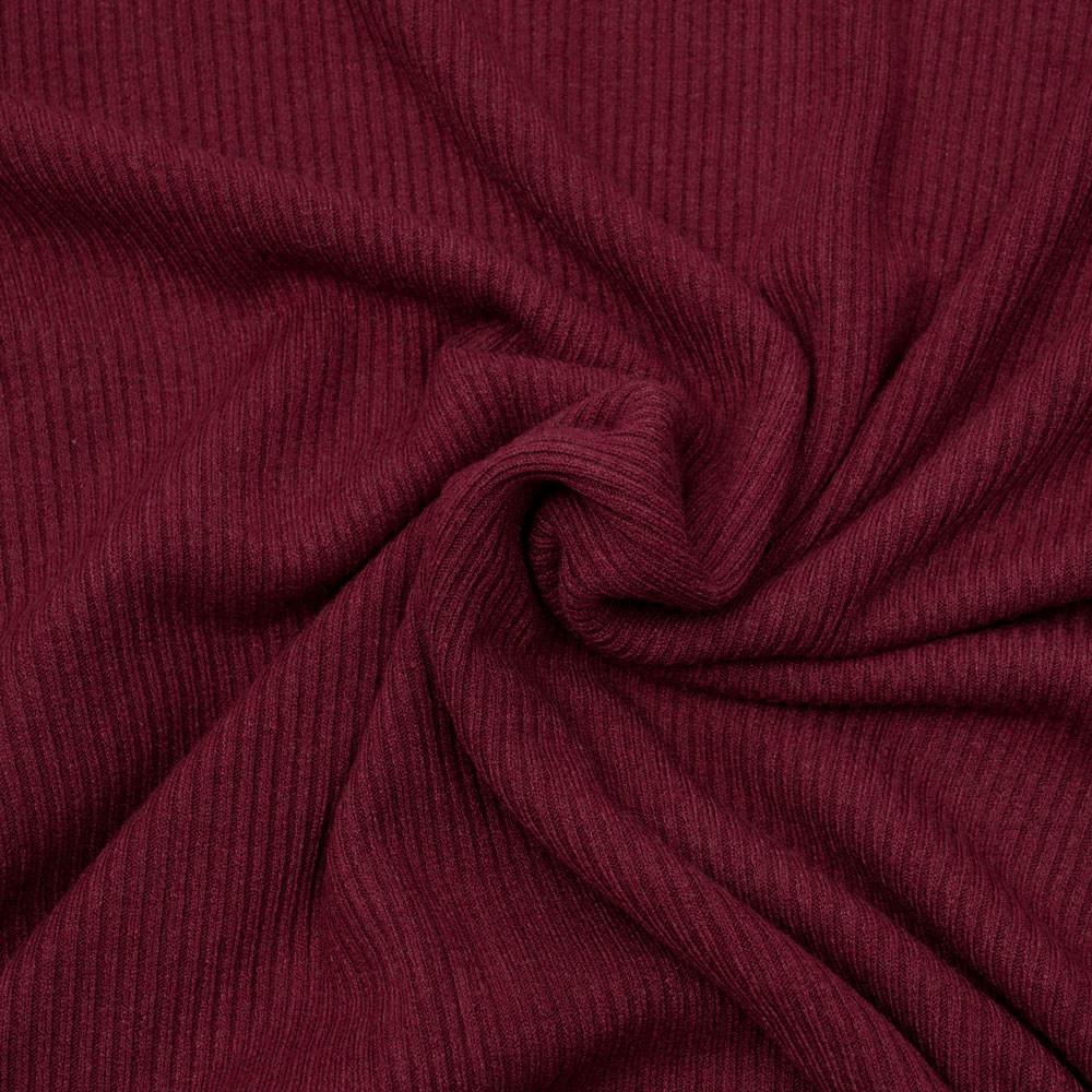 Tissu maille jersey bambou côtelé- pretty mercerie - mercerie en ligne