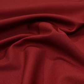 Tissu crêpe brick red x 10 cm