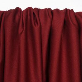 Tissu crêpe brick red - pretty mercerie - mercerie en ligne