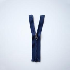 Fermeture éclair séparable bleu marine