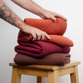 Tissu maille jersey bambou côtelé - pretty mercerie - mercerie en ligne