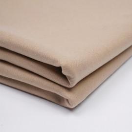Tissu drap de laine sergé latte  - pretty mercerie - mercerie en ligne