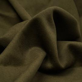 Tissu lainage vert kaki - pretty mercerie - mercerie en ligne