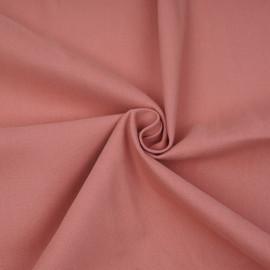 Tissu denim chino vieux rose  x 10cm