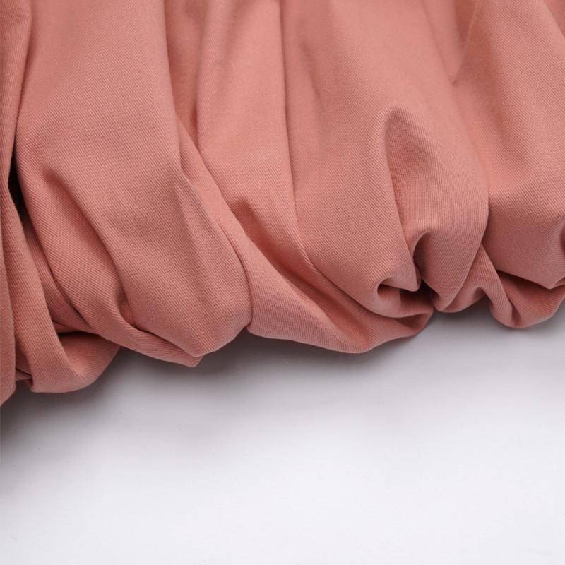 Tissu denim chino vieux rose - pretty mercerie - mercerie en ligne