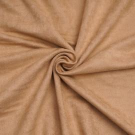 Tissu suédine biscuit - pretty mercerie - mercerie n ligne