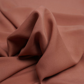 Tissu Tencel sergé vieux rose - pretty mercerie - mercerie en ligne