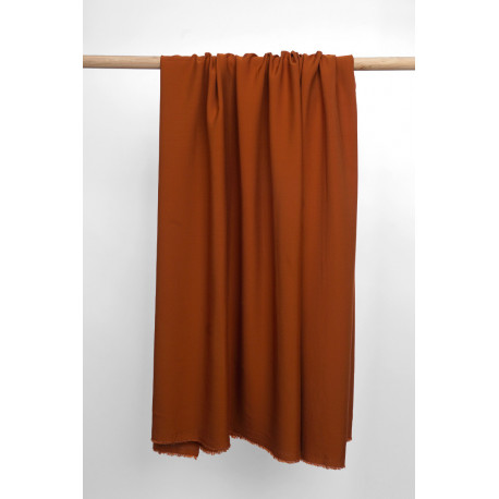 Tissu Tencel sergé rust - pretty mercerie - mercerie en ligne