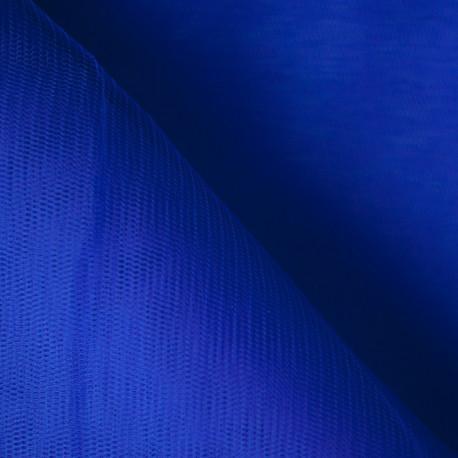 Tulle bleu extra Fin  x 10cm