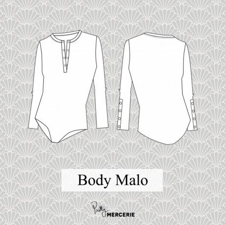 Body Malo - patron de couture - pretty mercerie - mercerie en ligne