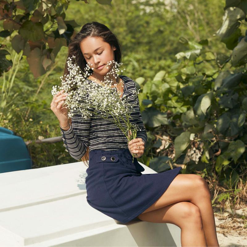 Jupe Erell - patron de couture - pretty mercerie - mercerie en ligne