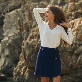 Blouse Salaun - patron de couture - pretty mercerie - mercerie en ligne
