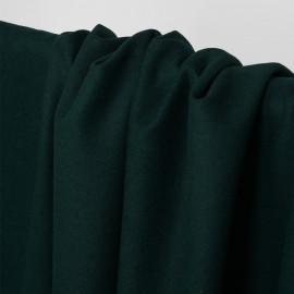 Tissu lainage vert evergreen - pretty mercerie - mercerie en ligne