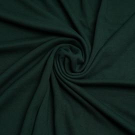Tissu sweat gratté vert foncé | Pretty Mercerie | Mercerie en ligne