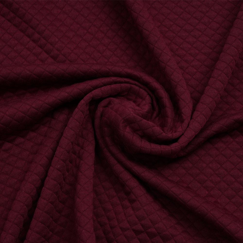 Tissu matelassé cordovan à motif petits carreaux | Pretty Mercerie | Mercerie en ligne