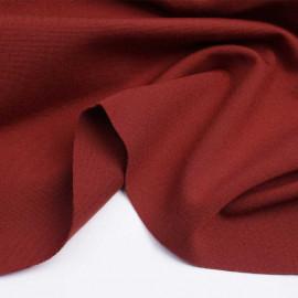 Tissu jersey viscose brique | Pretty Mercerie | Mercerie en ligne