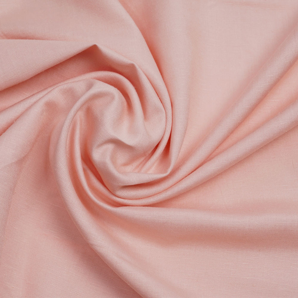 Tissu lin et viscose biscuit - pretty mercerie - mercerie en ligne